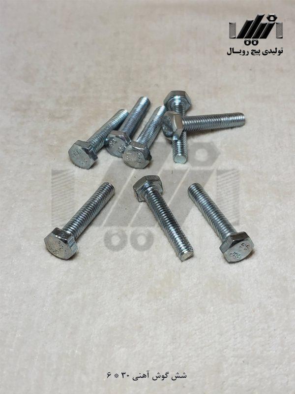 آهنی 30*6 تولیدی پیچ رویال