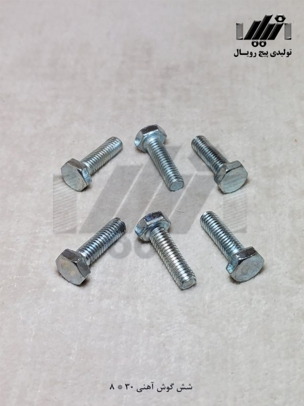 آهنی 30*8 تولیدی پیچ رویال